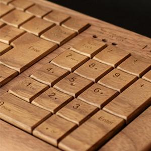 木製 キーボード